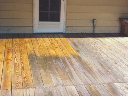 Deck Stripping And Staining Services