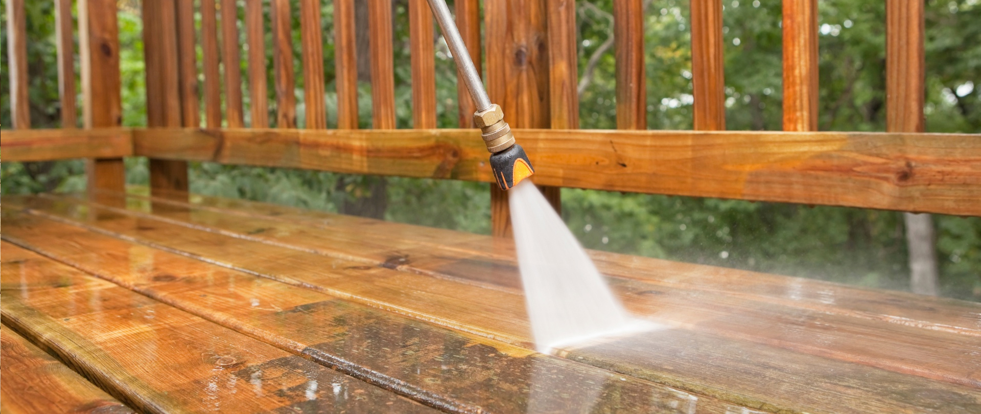 Deck Stripping & Staining